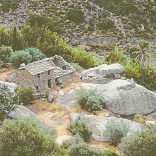 Old house countryside Ikaria