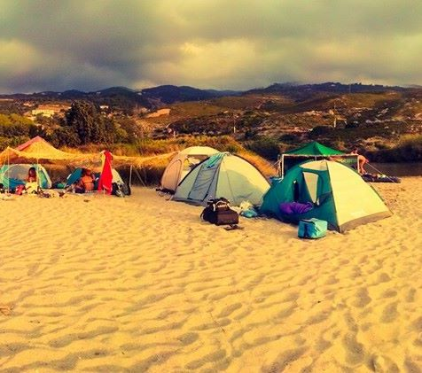 Messakti beach free camp