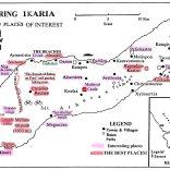 Nice spots Ikaria map