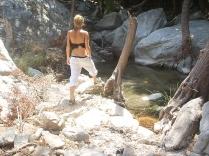 rivier op Ikaria