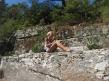 opgedroogde rivier in Greece