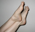 bare feet and more bare