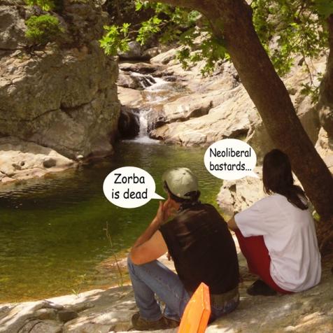 Zorba is dead