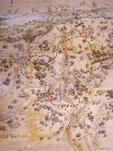 'Ο Γύρος των Ραχών με τα Πόδια' - Ο πεζοπορικός χάρτης που κυκλοφόρησε το 1998 και χρηματοδότησε τη συντήρηση και επέκταση του δικτύου των μονοπάτιών στην Ικαρία