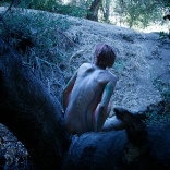Naked and bodypainted inside Ranti Forest Ikaria