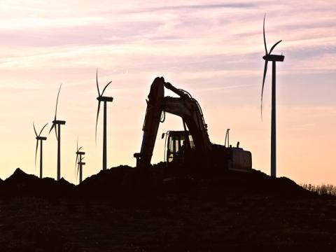 Digging turbines Ikaria