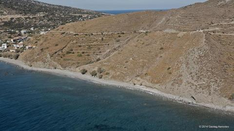 Nudist beach in Faros