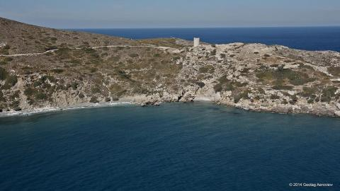 A place to swim naked in Ikaria