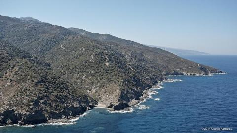 Pefkoudi secret cove Ikaria