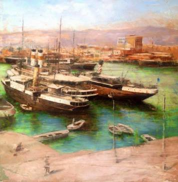 Βαγγέλης Ρίνας, Πειραιάς 1948