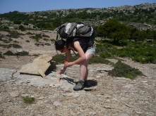 Volunteers trails Ikaria 07