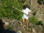Volunteers trails Ikaria 10