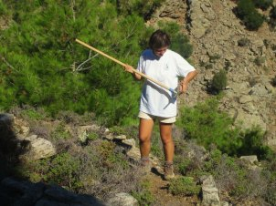 Volunteers trails Ikaria 10