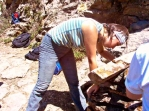 Volunteers trails Ikaria 11