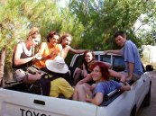 Volunteers trails Ikaria 13