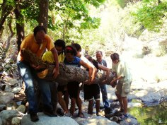 Volunteers trails Ikaria 14