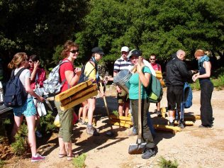 Volunteers trails Ikaria 24