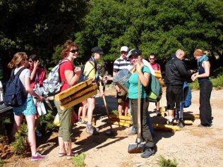 Volunteers trails Ikaria 24