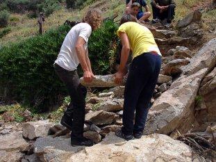 Volunteers trails Ikaria 35