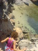 Secret beach, from 'Giving it all : Wild coves & beaches in southern Ikaria'