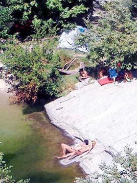 Old Ikaria camp