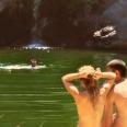 wild swimming ikaria