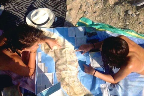 Studying the map of Ikaria