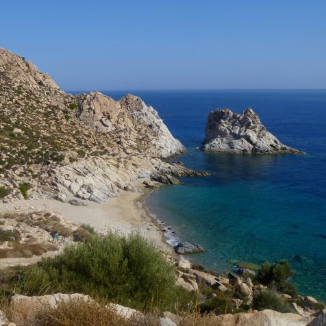 Private, hardly accessible paradise in Ikaria