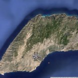 a. Hiking in Ryakas, Ikaria map