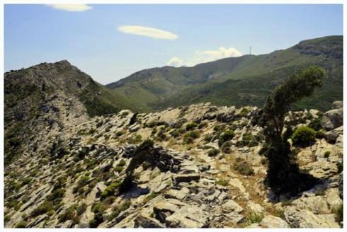 Ikaria Atheras Ridge