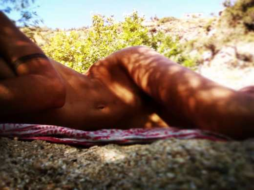 Peaceful naked moments in Nas Ikaria