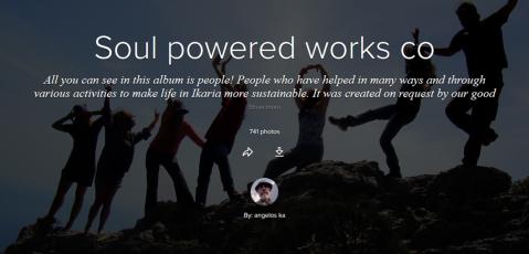 Soul powered works co jacket - Good works in Ikaria